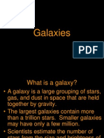 Main Types of Galaxies