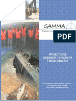 Brochure Gamma Ingeniería Medio Ambiente y Servicios Generales