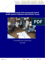 Impact Assessment of the Community Animal Health System in Mandera West District, Kenya