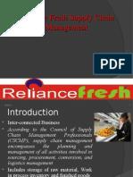 77784338 Reliance Fresh Supply Chain