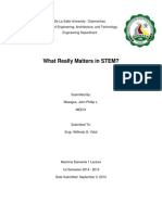 What really matters in STEM? ASME