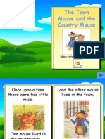 The Town Mouse and the Country Mouse Story Book