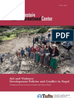 Aid and Violence