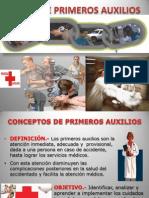 Presentación1 Curso de Primeros Auxilios Ricardo Cepi Sanse