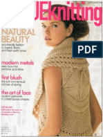 Vogue Knitting Spring-Summer 2009