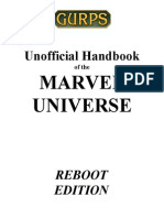 GURPS Marvel Universe