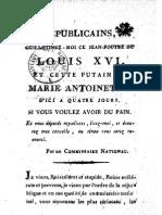 1793 Républicains, Guillotinez-moi Ce Jean-foutre.