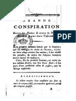 1791 Grande Conspiration Contre Les Dames..