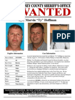 Ty Hoffman New Wanted Posted Ramsey County Sheriff's Office 09-05-2014
