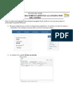 Subir Artículo desde Frontend en Joomla