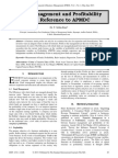 Fund Management and Profitability with Reference to APMDC