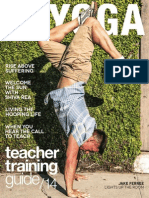 LA Yoga - Teacher Training Guide 14 June 2014