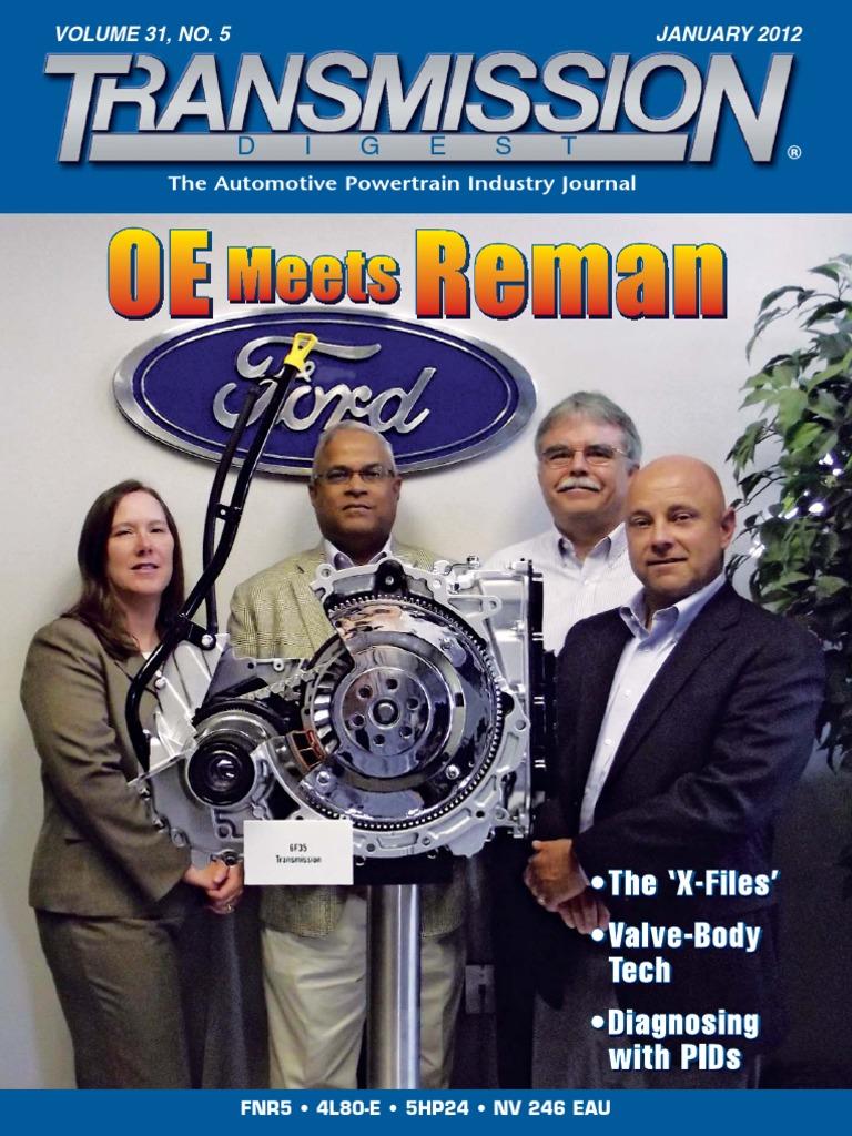 Transmission Digest Jan 2012 Ford Motor Company Tm551279 Diesel Electric 56 Gage 44 Ton 0440 400 Hp Davenport Mechanics