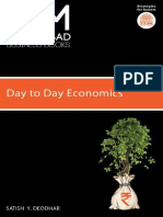 IIMA-Day to Day Economics - Satish Y. Deodhar