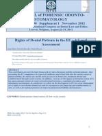 Rights of Dental Patients EU