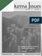 Burma Issue 2001