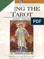 Living the Tarot - Amber Jayanti