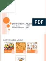 Sustitutos de Azucares I-2013