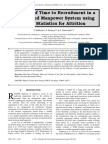 Variance of Time to Recruitment in a Two Graded Manpower System using Order Statistics for Attrition