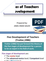 Topic 4 Stages of Teachers Development (Template)