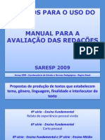 Estudo Uso Manual Saresp