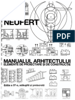 Neufert - Manualu arhitectului