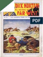 Dick Norton – El Héroe del Far-West No. 15 - Una contienda sobre una tumba