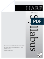Harp Syllabus 2009