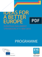 Ideas for a Better Europe