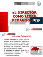 El Director Como Lider Pedagogico
