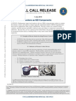 Pressure Cookers as IED Components