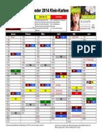 Abfallkalender Karben 2014 Klein-Karben