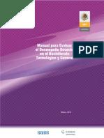Manual de Evaluación de La Práctica Docente