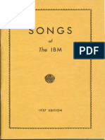 Songs of the IBM