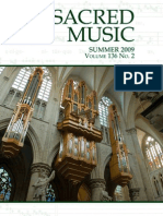 Sacred Music, Summer 2009, 136.2