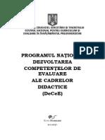 Programul de Formare DeCeE