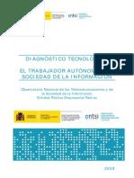 TICs Autonomos Spain