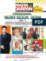Pratiyogita Darpan English - Panorama Year Book 2014