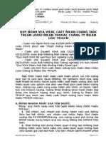 Quy Dinh Cat Dien Cong Tac