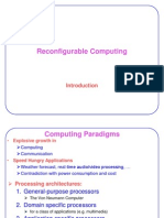 Introduction to Reconfigurable Systems1