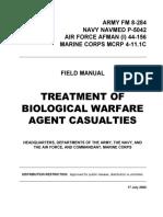 FM 8-284 Treatment of Biological Warfare Agent Casualties