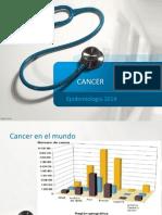 Epidemiologia Del Cancer 2014