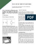 Application of Dc Shunt Motors[1]