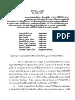 Decizia nr. 440 din data de 08.07.2014   privind reţinerea datelor private.