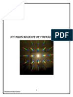 Revision Booklet of Thermal Physics