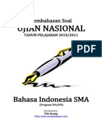 Pembahasan Soal UN Bahasa Indonesia SMA 2011