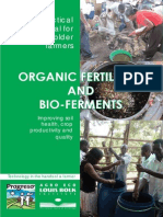 Organic Fertilizers and Bio-Ferments for Your Garden