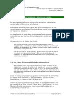 40) Alimentos Compatibles y No Compatibles