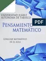 L-1 Lenguaje Matematico en El Aula U1 PM
