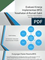 Evaluasi Kinerja Implementasi BPJS Kesehatan Di Rumah Sakit - 21 Mei 14